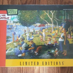 Buy The Simpsons 1000pc Puzzle Sunday Afternoon on the River Limited Edition NEW