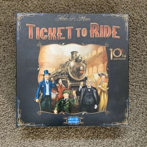 Buy Ticket To Ride 10th Aniversary Edition Days Of Wonder