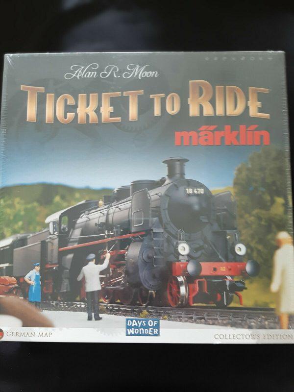 Buy Ticket To Ride Marklin Collector's Edition Rare Märklin Board Game (SEALED) NEW