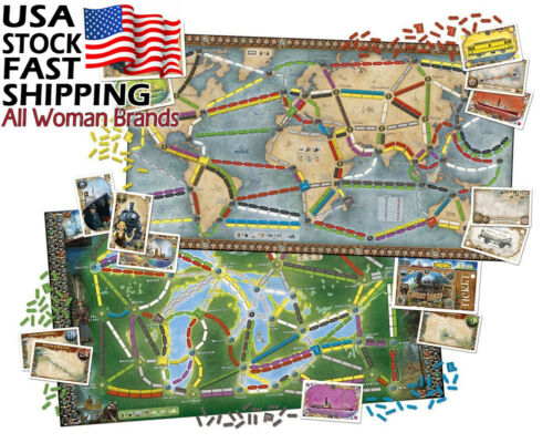 Buy Ticket To Ride Rails & Sails Board Game