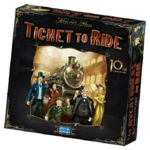 Buy Ticket to Ride 10th Anniversary Edition Board Game Sealed New Days of Wonder