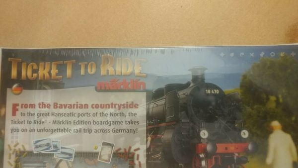 Buy Ticket to Ride Marklin Collector's Ed German Map (NEW SEALED) Days of Wonder