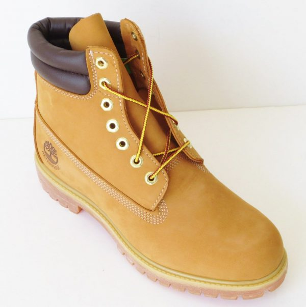 Buy Timberland Mens 6 Inch Double Sole Premium Leather  Work Boots Style 73540 Wheat