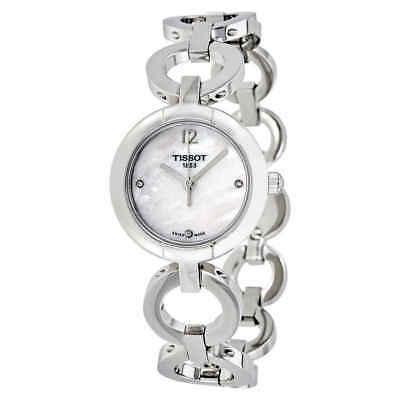 Buy Tissot White MOP Diamond Dial Ladies Watch T084.210.11.116.01