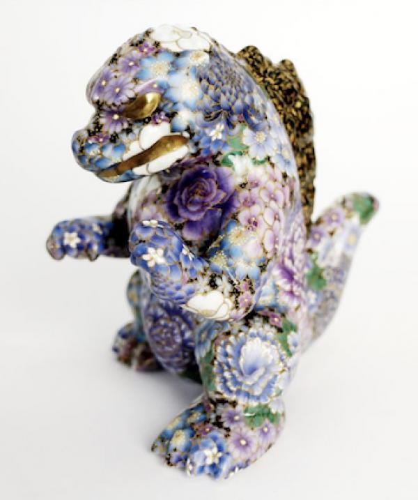 Buy Toho Godzilla Kutani Ware Series Satomi Kawada Godzilla Figurine pottery JAPAN