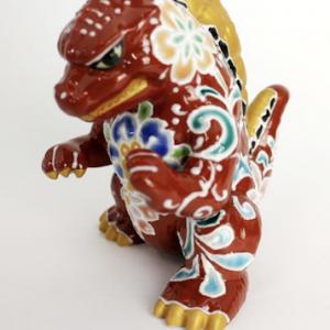 Buy Toho Godzilla Kutani Ware Series  Shiho Aikawa Godzilla Figurine pottery JAPAN