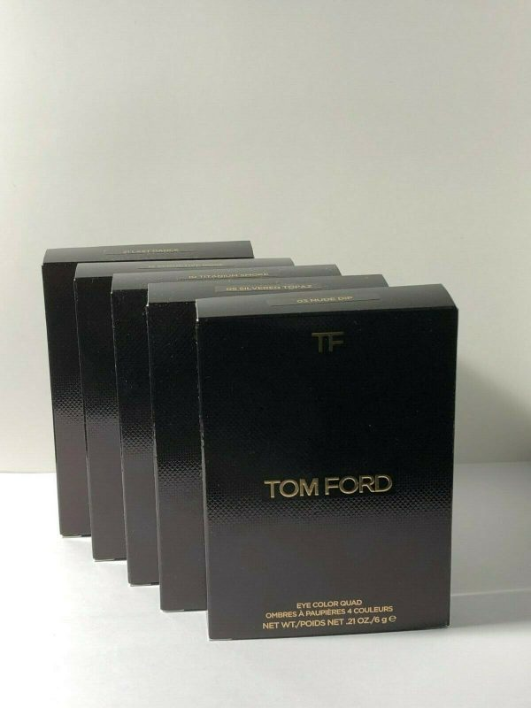 Buy Tom Ford Eye Color Quad 0.35oz / 10g New In Box 100 % Authentic ~Choose shade~