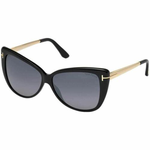 Buy Tom Ford Reveka Women Sunglasses Black w/Grey Lens  FT0512 01C