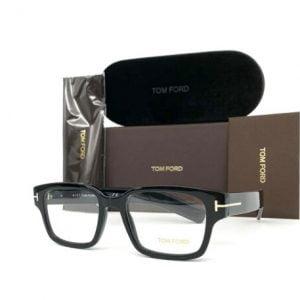 Buy Tom Ford TF5527 001 Shiny Black 50mm Eyeglasses FT5527
