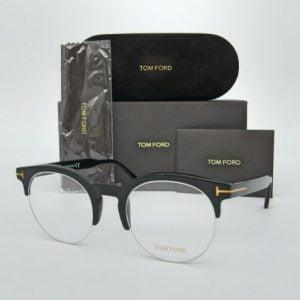 Buy Tom Ford TF5539 001 Shiny Black  52mm Eyeglasses FT5539