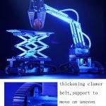 Buy TongLi K2 DIY Smart RC Robot Car Metal Lift Car Educational Kit
