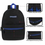 Buy Trailmaker 17 Inch Backpack - 5 Pop Colors, Wholesale Lot of 72 Bags