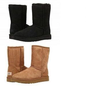 Buy UGG Classic Short II Boots Chestnut/Black *100% Authentic* women winter boots