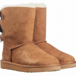Buy UGG LADIE'S BAILEY BOW II BOOTS - BLACK or CHESTNUT