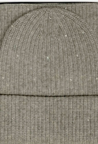 Buy UGG WOMEN'S CASHMERE GIFT SET ELARA Gray SCARF BEANIE HAT GIFT SET $298