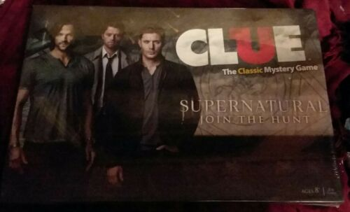 Buy USAOPOLY Supernatural Collector's Edition Clue Board Game (RETIRED!) SEALED