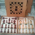 """Buy USCF Sales The Dubrovnik Chess Set - Pieces Only - 3.75"""" King - Golden Rosewood"""