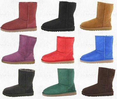 Buy Ugg Australia Classic Short Kids  Boots Twinface Sheepskin 5251 Youth Size