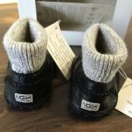 Buy Ugg Newborn Boots I Macie 3276 Infant Black Boots-new In Box