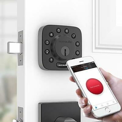 Buy Ultraloq U-Bolt Bluetooth Enabled Keypad Smart Deadbolt lock + Bridge Black
