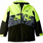 Buy Under Armour Kids Ski Zumatrek Jacket Hi Visibility Yellow Size YLG (14-16) $125