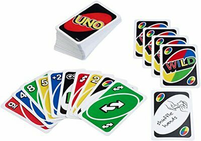 Buy Uno Card Game (Pack of 18)