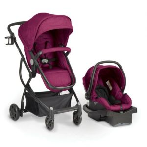Buy Urbini Omni Plus 3 in 1 Travel System, Special Edition, Raspberry Fizz - New