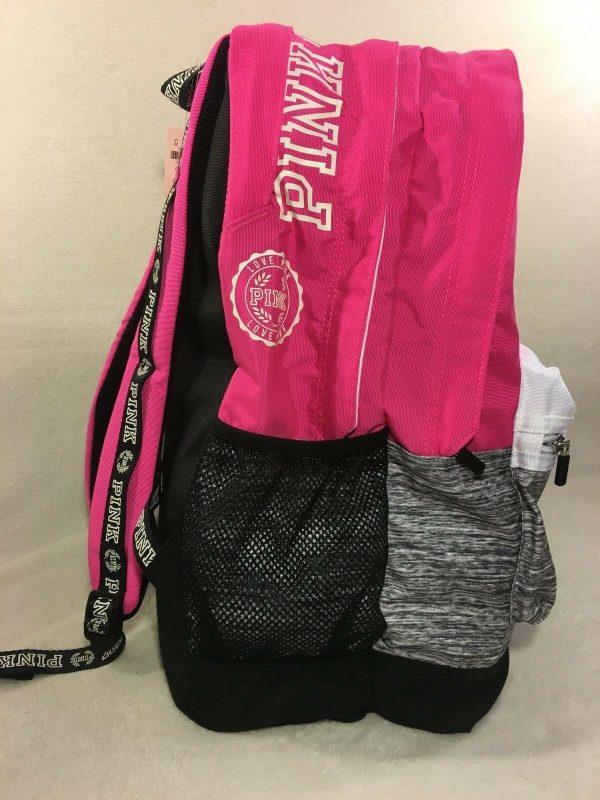 Buy VICTORIA SECRET PINK CAMPUS BACKPACK / TRAVEL TOTE /GYM BAG PINK MULTI  GIRLS