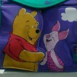 Buy VTG Diaper Bag Purple/Green Mid Century Disney Character Piglet&Winnie the Pooh