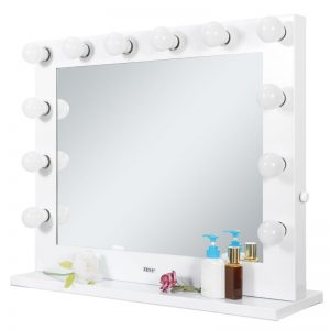 Buy Vanity Mirror with Light Hollywood Makeup Lighted Mirror with Dimmer Free Bulbs