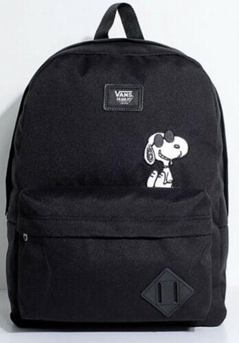 Buy Vans X PEANUTS Old Skool II Snoopy Black Backpack BRAND NEW