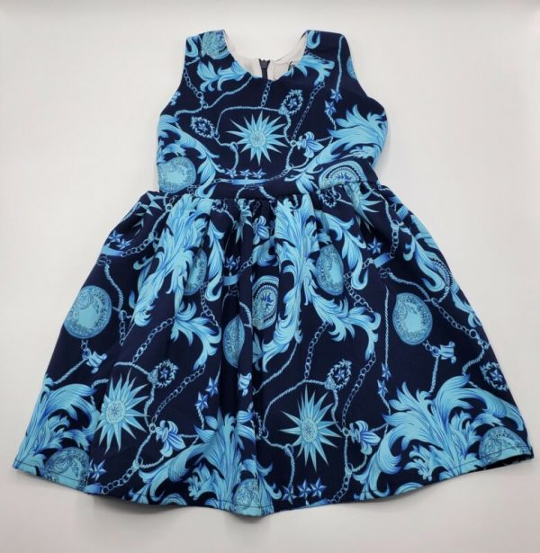 Buy Versace Girls Signature Fashion Design Dress Size 4 New With Tags