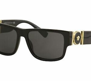 Buy Versace Man Sunglasses, Black Lenses Acetate Frame, 58mm