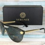 Buy Versace VE2161-100287 GOLD gray 42 mm Women's Sunglasses