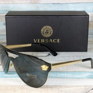 Buy Versace VE2161-100287 GOLD gray 42 mm Women's Sunglasses