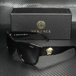 Buy Versace VE4275 GB1/81 BLACK POLARIZED GREY 58 mm Men's Sunglasses