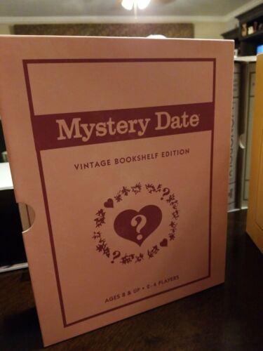Buy Vintage Bookshelf - Yahtzee, Scrabble, Clue, Monopoly, Boggle, and Mystery Date