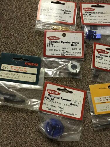 Buy Vintage Kyosho Rc Parts Lot