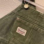 Buy Vtg OshKosh 3T Vestbak Green Bib Overalls Made in USA New With Tags