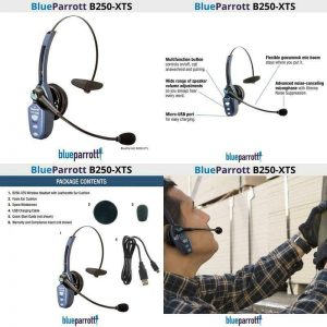 Buy Vxi B250 Xts Wireless Headset Wideband Hd Voice Audio Clearer Conversations