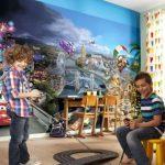 Buy Wall Mural photo wallpaper CARS 2 DISNEY for kids nursery decoration + Adhesive