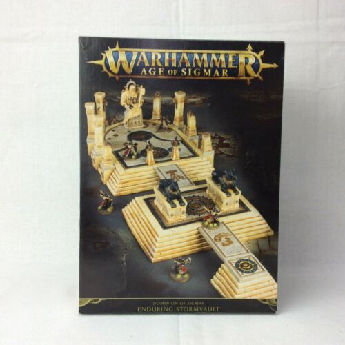 Buy WarHammer: Age Of Sigmar- Dominion Of Sigmar- Enduring Stormvault