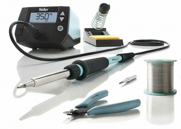 Buy Weller 70W Digital Soldering Iron Station 8 Piece Professional Education Kit