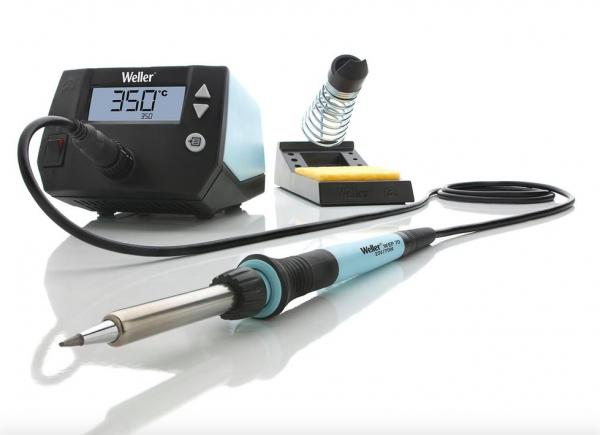 Buy Weller Electric Digital Soldering Solder Station Wire Tip Sponge Tool Kit Set