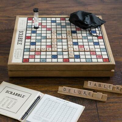 Buy Winning Solutions Scrabble Deluxe Vintage Board Game
