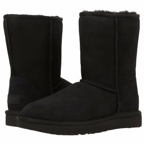 Buy Women's Shoes UGG CLASSIC SHORT II Boots 1016223 BLACK 5 6 7 8 9 10 11 *New*