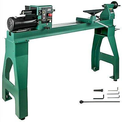 """Buy Wood Lathe Wood Turning Lathe 16"""" x 42"""" 1750W 0-3200RPM Cast Iron BenchTop"""