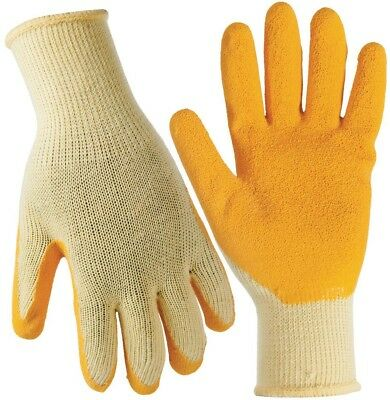 Buy Work Gloves Latex Coated Cotton Knit Hand Safety Gear Protection Medium 20 Pair