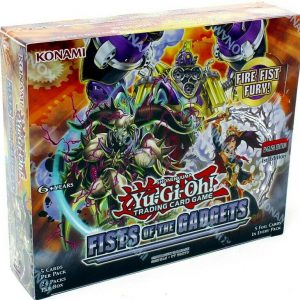 Buy YUGIOH FISTS OF THE GADGETS 1ST EDITION BOOSTER 12 BOX CASE BLOWOUT CARDS