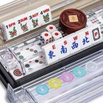 Buy Yellow Mountain Imports American Mahjong Set Easy Reader with Beige Soft Case